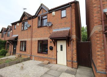 Thumbnail 2 bed semi-detached house for sale in The Spinneys, Welton, Lincoln