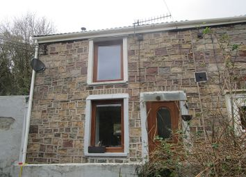 Thumbnail 1 bed end terrace house for sale in Heol Twrch, Lower Cwmtwrch, Swansea, City And County Of Swansea.