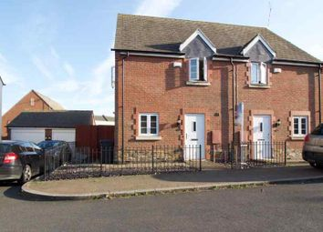 Thumbnail 3 bed semi-detached house for sale in Palmer Square, Birstall, Leicester