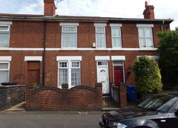 Thumbnail 3 bed property to rent in Cobden Street, Derby