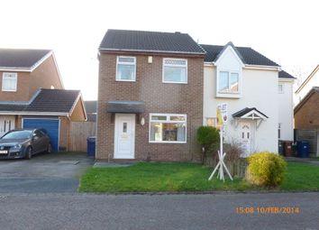 Thumbnail 3 bed semi-detached house to rent in Fernleigh, Leyland