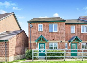 Thumbnail 3 bedroom end terrace house for sale in Butterfly Gardens, Woodville, Swadlincote, Derbyshire