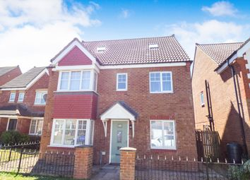 Thumbnail 5 bed detached house to rent in Rothbury Drive, Ashington