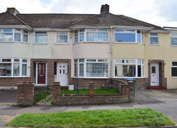 Thumbnail 3 bed terraced house for sale in Mill Road, Fareham