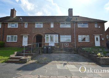 Thumbnail 3 bedroom terraced house for sale in Millmead Road, Birmingham, West Midlands.