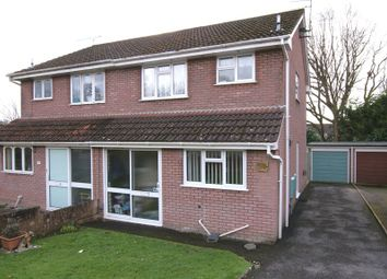 Thumbnail 3 bedroom semi-detached house for sale in Redshank Close, Creekmoor, Poole