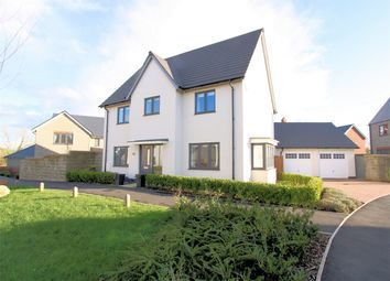 Thumbnail 4 bed detached house for sale in Cranesbill Crescent, Charfield, Wotton-Under-Edge, Gloucestershire