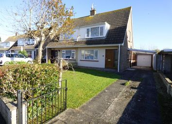 Thumbnail 2 bed semi-detached house for sale in Thornbury Drive, Uphill, Weston-Super-Mare
