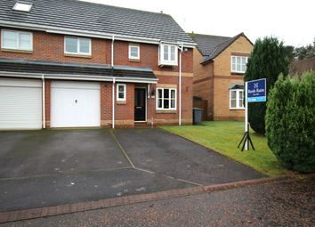 Thumbnail 4 bed semi-detached house for sale in Brantwood, Chester Le Street