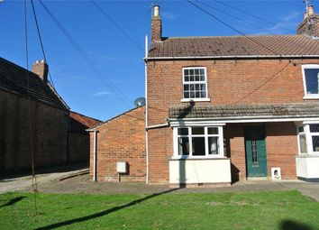 Thumbnail 2 bed semi-detached house for sale in East Lane, Morton, Bourne, Lincolnshire