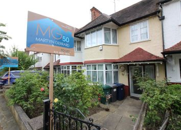 Thumbnail 3 bed terraced house to rent in Brent Way, West Finchley