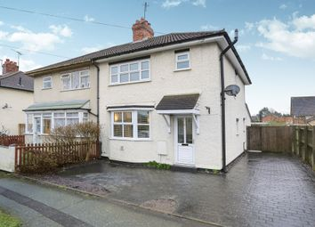 Thumbnail 3 bedroom semi-detached house for sale in Woodland Avenue, Tettenhall Wood, Wolverhampton