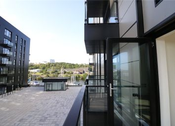 Thumbnail 1 bed flat for sale in Bayscape, Cardiff Marina, Watkiss Way, Cardiff