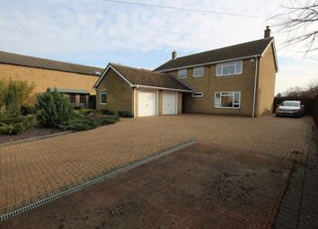 Thumbnail 4 bed detached house for sale in Aldreth Road, Haddenham, Ely