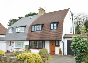 Thumbnail 3 bed semi-detached house to rent in Hookfield, Epsom