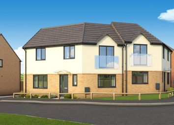 "Thumbnail 3 bedroom property for sale in ""The Sidbury At Roman Fields "" at Chamberlain Way, Peterborough"