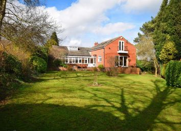 Thumbnail 4 bed detached bungalow for sale in Overdale Place, Leek