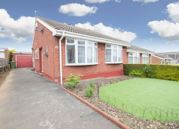 Thumbnail 2 bedroom semi-detached bungalow for sale in Belgrave Drive, Normanby, Middlesbrough