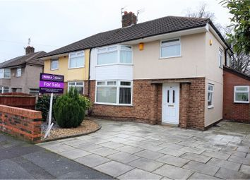 Thumbnail 3 bed semi-detached house for sale in Sycamore Road, Huyton