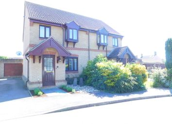 Thumbnail 2 bedroom semi-detached house for sale in Old School Walk, Arlesey, Beds