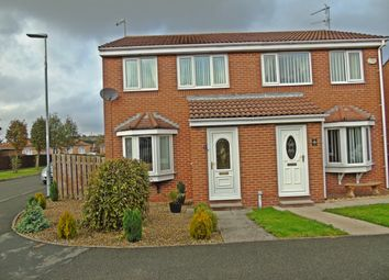 Thumbnail 3 bedroom semi-detached house for sale in Ryedale Court, Trimdon Station