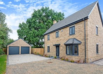 Thumbnail 4 bed detached house for sale in Hayfields, Greenfield Road, Flitton