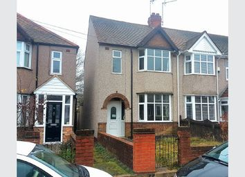 Thumbnail 3 bed end terrace house for sale in Benson Road, Coventry