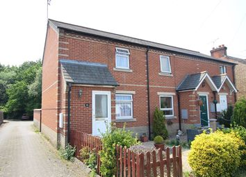 Thumbnail 2 bedroom end terrace house for sale in Station Road, Claydon, Ipswich, Suffolk