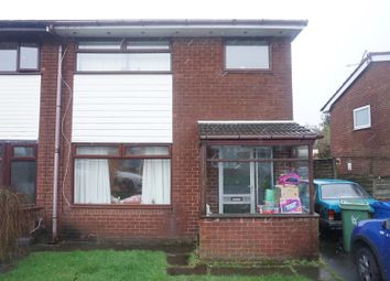 Thumbnail 3 bed semi-detached house for sale in Meadowbank Avenue, Manchester, Greater Manchester