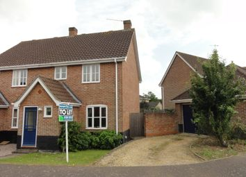 Thumbnail 3 bed semi-detached house to rent in Bluebell Avenue, Bury St. Edmunds