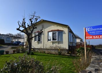 Thumbnail 2 bed mobile/park home for sale in Enys Redenek, North Roskear, Camborne