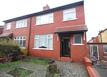 Thumbnail 3 bed semi-detached house to rent in Ashburton Road, North Shore, Blackpool, Lancashire