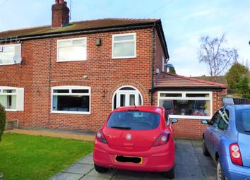 Thumbnail 3 bed semi-detached house for sale in Aldwyn Crescent, Hazel Grove, Stockport