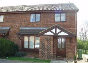 Thumbnail 2 bed terraced house to rent in Oaks Court, Narborough, Leicester