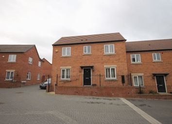 Thumbnail 4 bed semi-detached house for sale in Lineton Close, Lawley Village, Telford