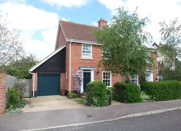Thumbnail 3 bedroom semi-detached house to rent in Aldergrove Close, Halesworth