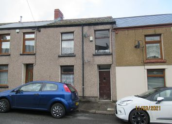 Thumbnail 2 bed terraced house for sale in Painters Row, Treherbert, Rhondda Cynon Taff.