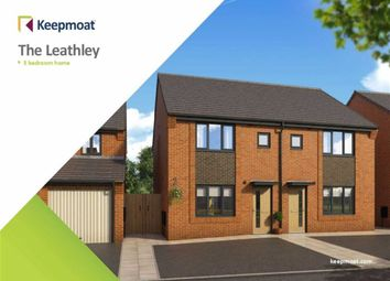 Thumbnail 3 bedroom semi-detached house for sale in Woodford Grange, Winsford, Cheshire