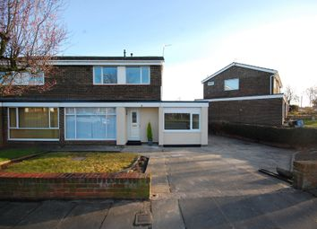 Thumbnail 4 bed semi-detached house to rent in Bolton Close, Newton Hall, Durham