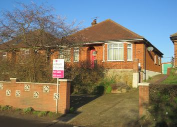 Thumbnail 3 bed detached bungalow for sale in Playford Road, Rushmere St. Andrew, Ipswich
