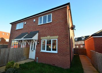 Thumbnail 2 bedroom terraced house to rent in Grove Way, Hemsworth, Pontefract