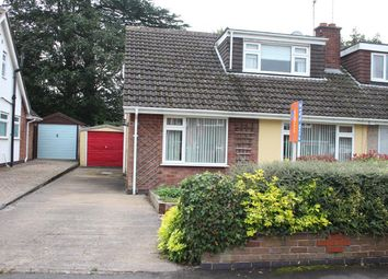 Thumbnail 4 bedroom semi-detached house for sale in Castle Close, Sapcote, Leicester