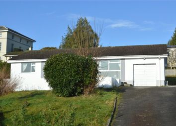 Thumbnail 3 bed detached bungalow for sale in Wadham Road, Liskeard, Cornwall