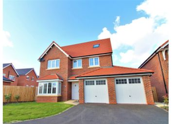 Thumbnail 5 bed detached house for sale in Poppy Field Road, Northop Hall