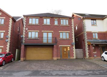 Thumbnail 5 bed detached house for sale in Kingswood Close, Hengoed