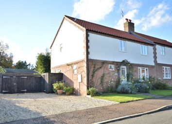 Thumbnail 3 bed semi-detached house for sale in Manor Drive, Litcham, King's Lynn