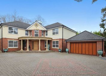 Thumbnail 5 bed detached house for sale in Leatherhead Road, Oxshott