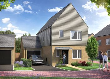 Thumbnail 3 bed detached house for sale in Rowtown, Surrey