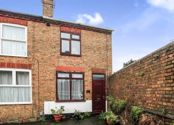 Thumbnail 2 bedroom end terrace house for sale in Silver Street, Woodston, Peterborough