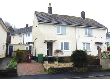 Thumbnail 2 bed semi-detached house for sale in St. Maurice Road, Plympton, Plymouth